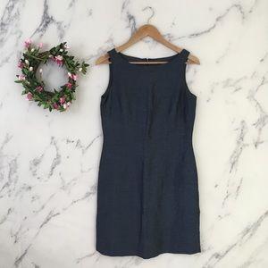 INC International Concepts Linen Sheath Dress
